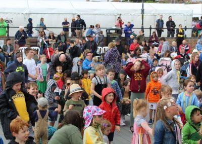 Families at Folk Week 2021