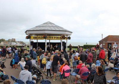 Broadstairs Bandstand Folk Week 2021