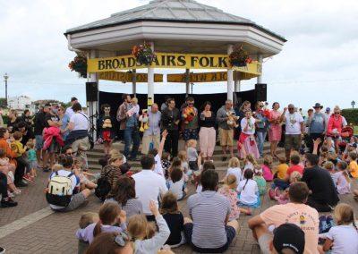 Broadstairs Bandstand at Folk Week
